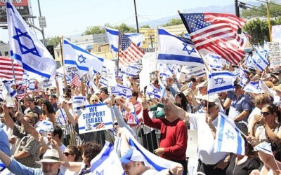 Evan's interview at a recent Pro-Israel Rally in LA!