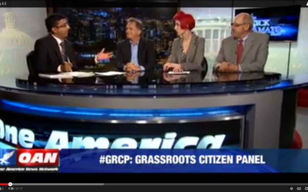Dinesh hosts.  I'm on the panel. Liberal an ass!
