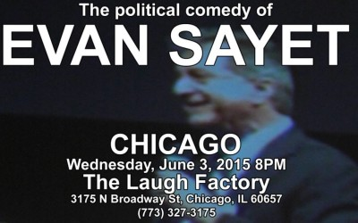Evan Sayet performing live in CHICAGO